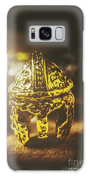 Fighter Galaxy Case - Spartan Military Helmet by Jorgo Photography - Wall Art Gallery