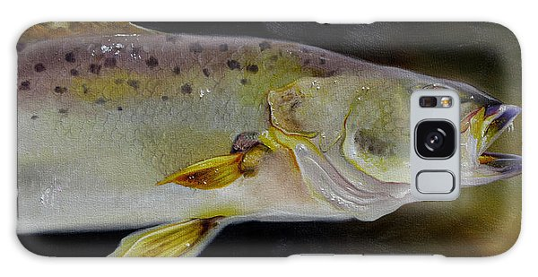 Speckled Trout Study Galaxy Case by Phyllis Beiser