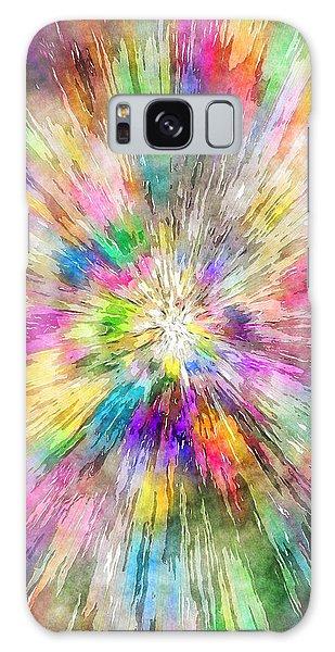 Spectral Tie Dye Starburst Galaxy Case