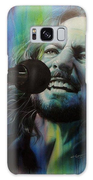 Eddie Vedder - ' Spectrum Of Vedder ' Galaxy Case by Christian Chapman Art