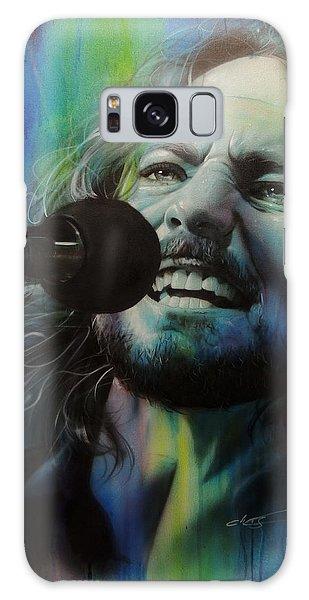 Pearl Jam Galaxy Case - Spectrum Of Vedder by Christian Chapman Art