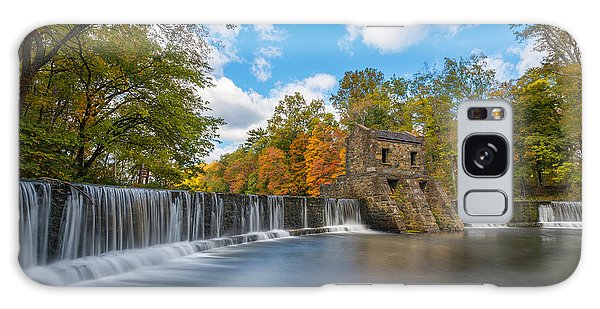 Speedwell Dam Fall Foliage Galaxy Case