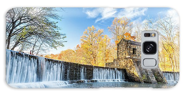 Speedwell Dam Waterfall Galaxy Case