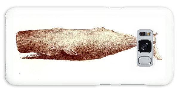 Sperm Whale Galaxy Case by Michael Vigliotti
