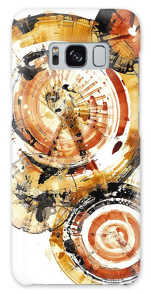 Galaxy Case featuring the painting Sphere Series 1020.050112 by Kris Haas