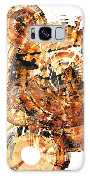 Galaxy Case featuring the painting Sphere Series 1021.050212 by Kris Haas