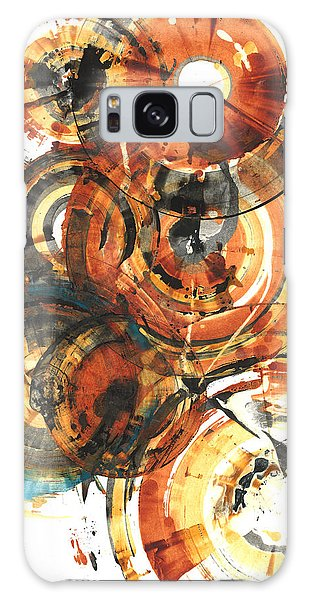 Galaxy Case featuring the painting Sphere Series 1022.050212 by Kris Haas