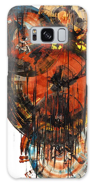 Galaxy Case featuring the painting Sphere Series 1023.050312 by Kris Haas