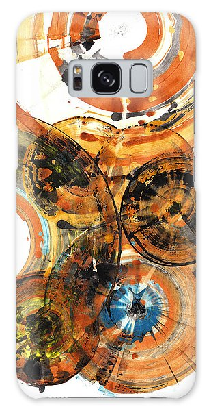 Galaxy Case featuring the painting Sphere Series 1024.050312 by Kris Haas