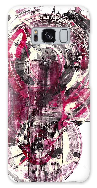 Galaxy Case featuring the painting Sphere Series 1026.050412 by Kris Haas