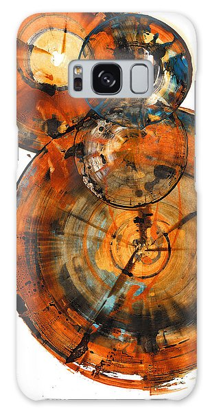 Galaxy Case featuring the painting Sphere Series 1027.050412 by Kris Haas