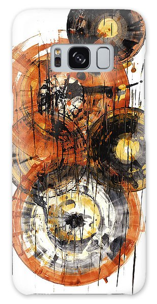Galaxy Case featuring the painting Sphere Series 1028.050412 by Kris Haas