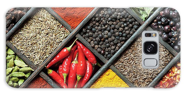 Indian Corn Galaxy Case - Spices by Tim Gainey