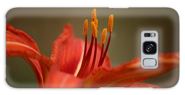 Spider Lily Galaxy Case by Cathy Harper