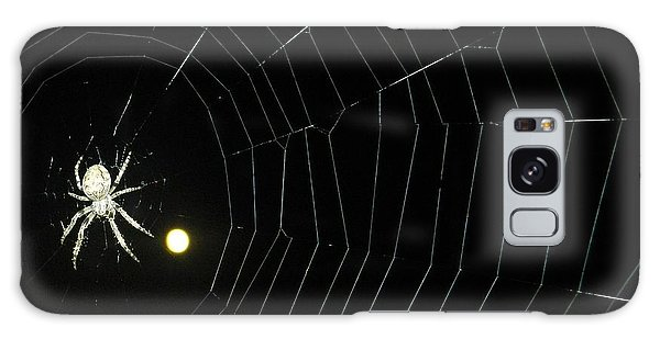 Spider Moon Galaxy Case