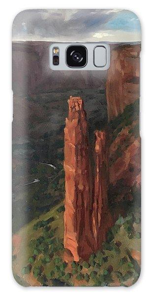 Spider Rock, Canyon De Chelly Galaxy Case