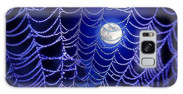 Spider Web Galaxy Case by George Robinson