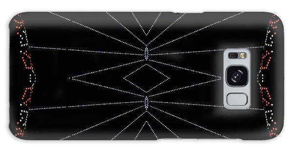 Spider Webs Galaxy Case