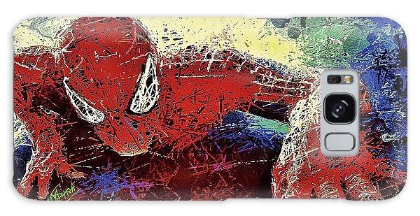 Spiderman Climbing  Galaxy Case