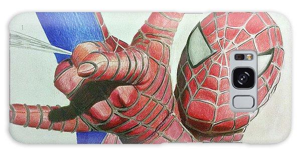 Spiderman Galaxy Case by Michael McKenzie
