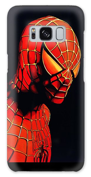 Spiderman Galaxy Case by Paul Meijering