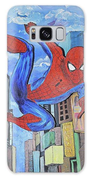 Spiderman Swings Galaxy Case