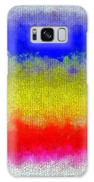 Spilled Paint 1 Galaxy Case by Darla Wood