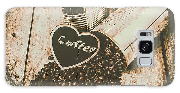 Cafe Galaxy Case - Spilling The Beans by Jorgo Photography - Wall Art Gallery