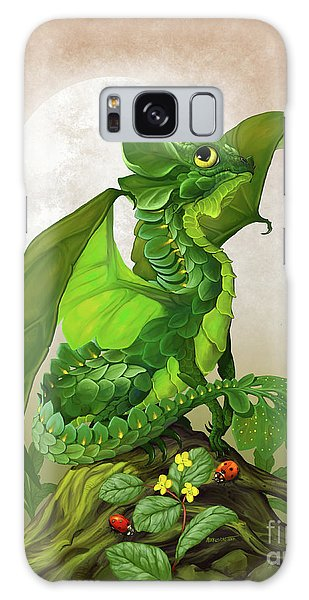 Spinach Dragon Galaxy Case by Stanley Morrison