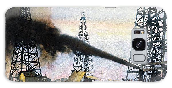 Spindletop Oil Pool, C1906 Galaxy Case