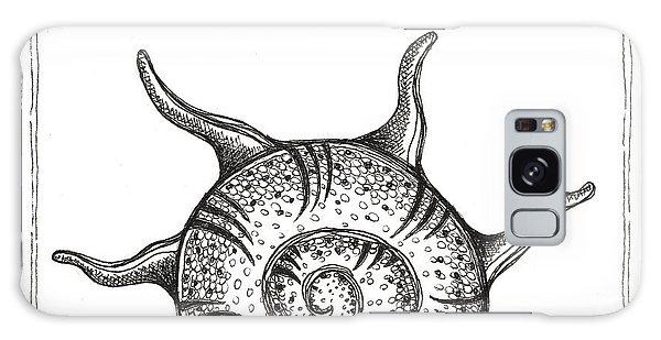 Spiney Nautilus Galaxy Case