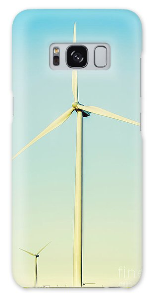 Wind Power Galaxy Case - Spinning Sustainability by Jorgo Photography - Wall Art Gallery