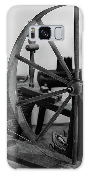 Spinning Wheel At Mount Vernon Galaxy Case