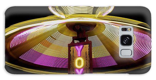 County Fair Galaxy Case - Spinning Yoyo Ride by Juli Scalzi