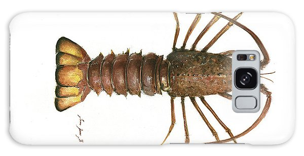 Claws Galaxy Case - Spiny Lobster by Juan Bosco
