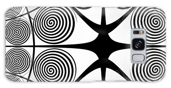 Spiral Abstract 7 Colour Choice Galaxy Case
