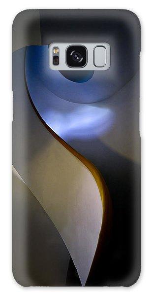 Spiral Concrete Modern Staircase Galaxy Case