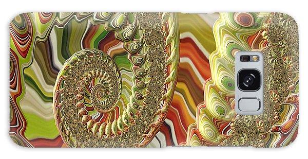 Spiral Fractal Galaxy Case by Bonnie Bruno