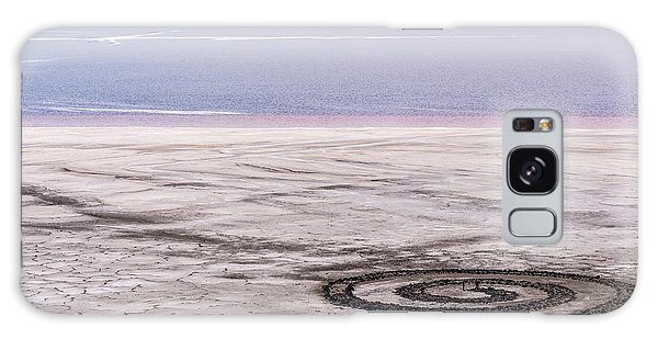 Spiral Jetty - Great Salt Lake - Utah Galaxy Case