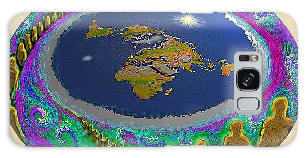 Spiral Of Souls Flat Earth Galaxy Case