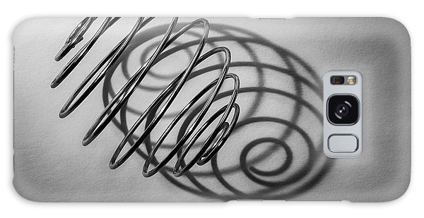 Chrome Galaxy Case - Spiral Shape And Form by Scott Norris