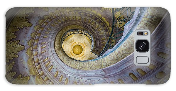 Spiral Staircase Melk Abbey I Galaxy Case