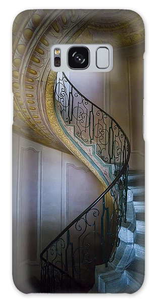 Spiral Staircase Melk Abbey II Galaxy Case