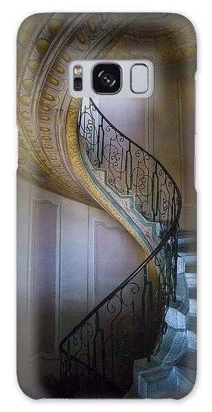 Spiral Staircase Melk Abbey II Galaxy Case