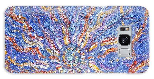 Galaxy Case - Spirale Money Magnet by Joanna Pilatowicz