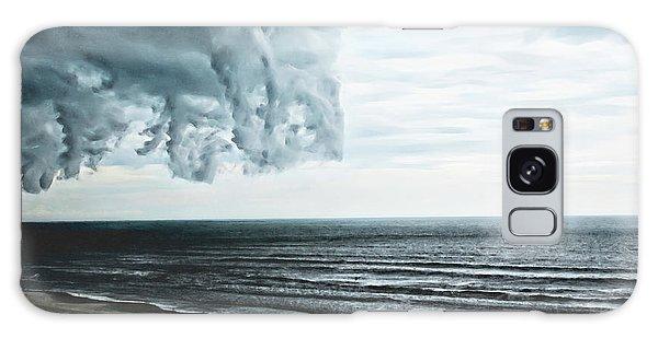 Spiraling Storm Clouds Over Daytona Beach, Florida Galaxy Case