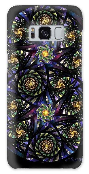 Spirals Of The Night Galaxy Case