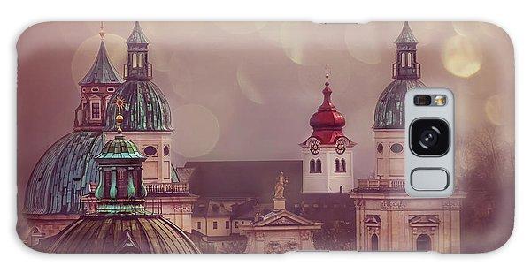 Spires Of Salzburg  Galaxy Case