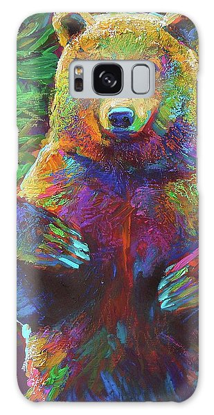 Spirit Bear Galaxy Case by Robert Phelps