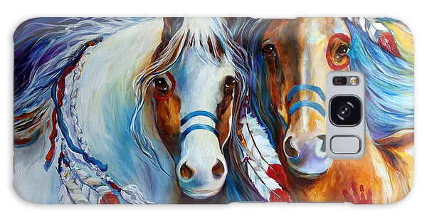 Spirit Indian War Horses Commission Galaxy Case